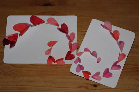 make a valentines card passengers on a spaceship paper for