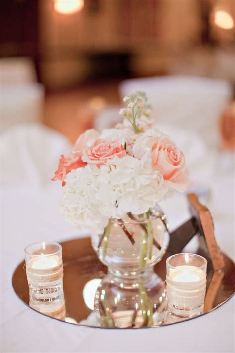 simple centerpiece ideas best 25 blush wedding centerpieces ideas only on