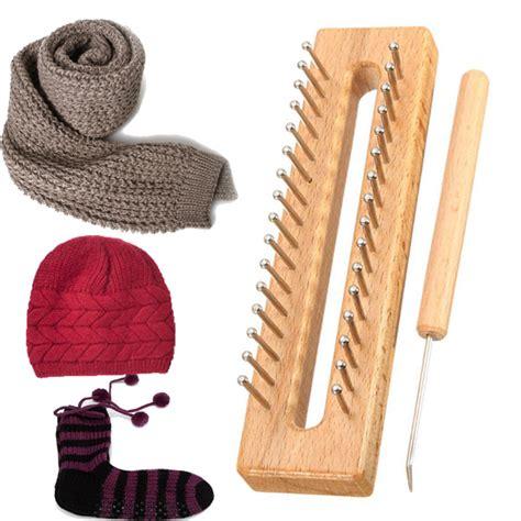 wooden knitting looms for sale bed bath wooden scarf hat socks wool yarn knitting