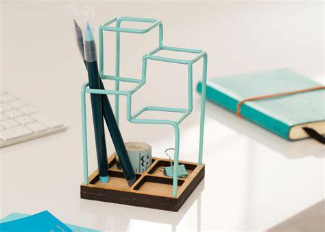 designer desk organizer a 3d desk organizer that looks like a sketch desk tidy