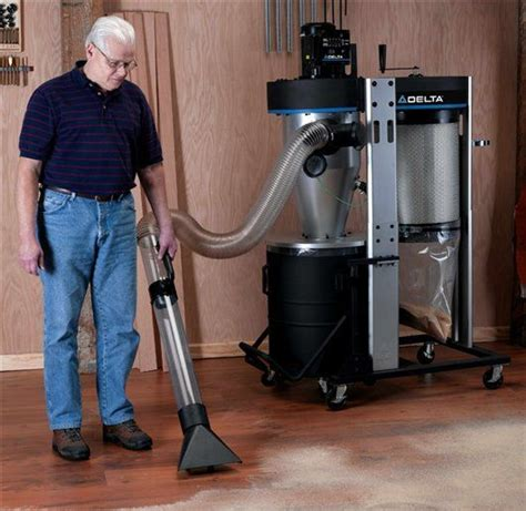 used dust collectors for woodworking woodworking tool news delta portable cyclone dust