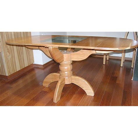 cherry wood kitchen table and chairs pedestal style solid wood dining table bass furniture