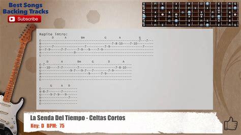 la senda del tiempo celtas cortos la senda del tiempo celtas cortos guitar backing track