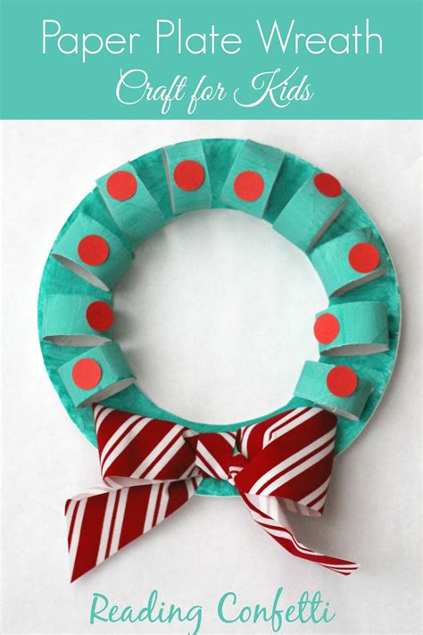 paper plate wreath crafts paper plate and wreath crafts