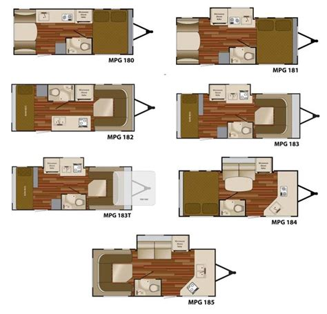 heartland rv floor plans heartland mpg travel trailer floorplans large picture