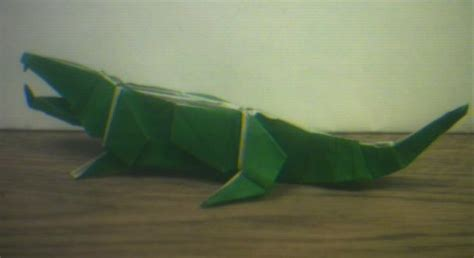 crocodile origami an origami crocodile