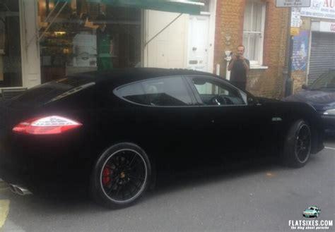 Suede Wrap Car by Suede Velvet Wrapped Porsche Panamera