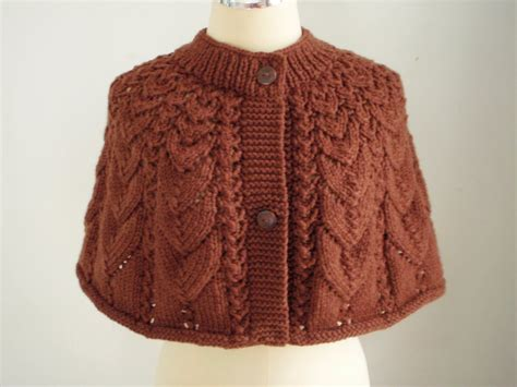 knitted cape myknittingdaily knitting cape style in