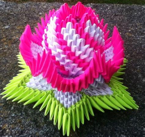 3d origami lotus lotus album ricardo 3d origami
