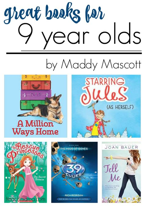 picture books for 9 year olds great books for 9 year olds by maddy mascott teach