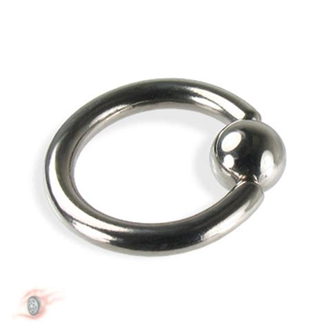 captive bead ring titanium captive bead ring 10 ga ear piercing jewelry