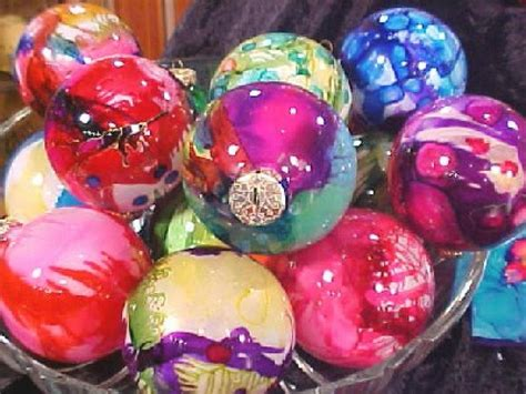 decorate glass ornaments how to make airbrushed glass ornaments hgtv