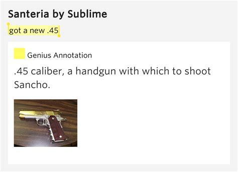 santeria meaning got a new 45 santeria by sublime