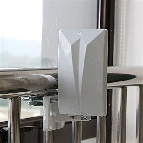 antenne tnt ext 233 rieure 1byone antenne int 233 rieure puissante digitale pour r 233 ception dvb t vhf