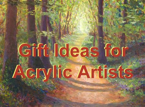 Gift Ideas For Acrylic Painting Artists Feltmagnet