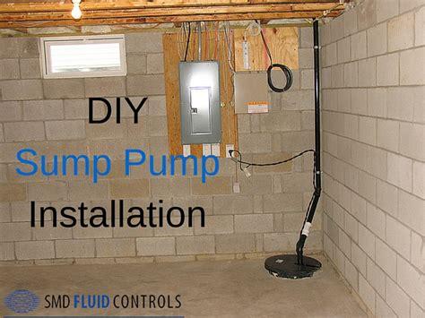 sump basement diy sump make install your own basement sump