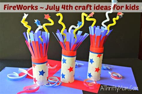 fourth of july crafts for easy fireworks july 4th crafts for and easy