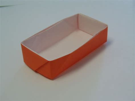 rectangle origami rectangular origami box