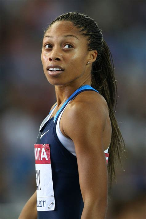 how to style hair for track and field allyson felix ponytail allyson felix looks stylebistro