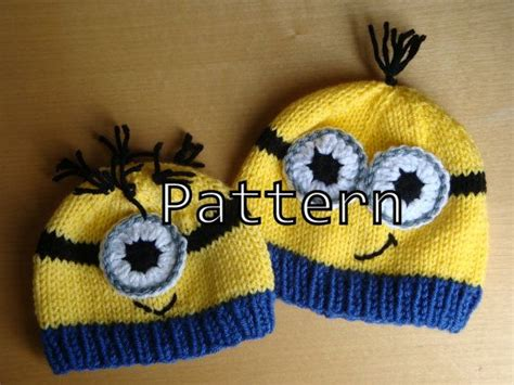 how to knit minions 1000 images about knitting on minion crochet
