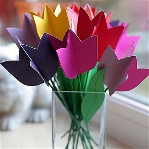 origami tulips bouquet paper tulips flower bouquet stuff for