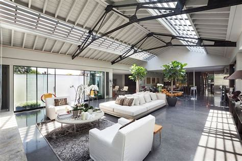 Art Deco Dining Room old warehouse in london turned into posh urban penthouse