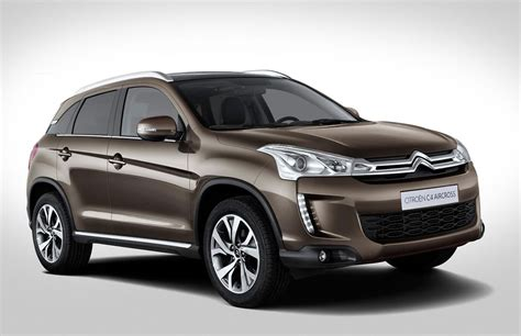 C4 Citroen by Citroen C4 Aircross Car Magazine