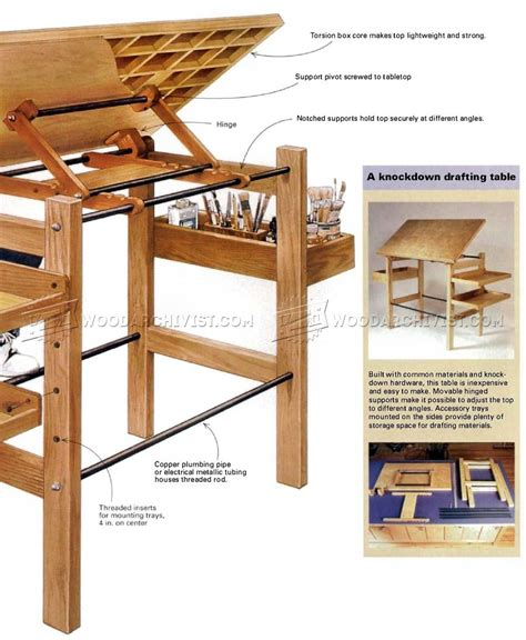 build drafting table how to build a drafting table how to build a drafting