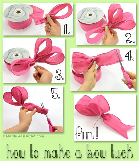 how to make a ribbon bow for a card ideas by mardi gras outlet may 2013