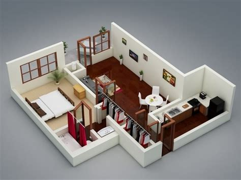 one bedroom designs 1 bedroom apartment house plans smiuchin