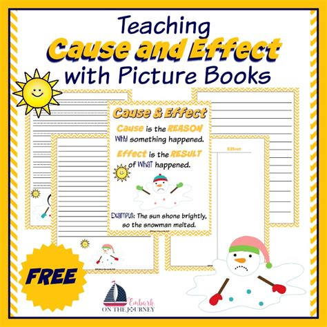 picture books to teach cause and effect teaching cause and effect with picture books