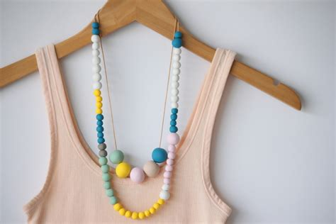 how to make polymer clay jewelry diy polymer clay necklace dollar store