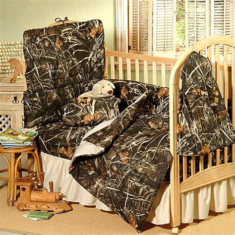 camouflage bedding for cribs max 4 realtree indoors camo baby crib bedding set