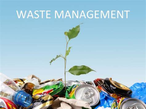 waste management tree presentation spain waste management