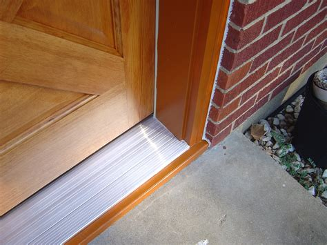 exterior door threshold replacement replace front door threshold repair replace front door