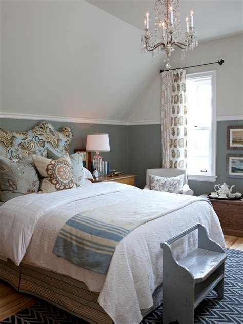 paint ideas for country bedroom gray country bedroom with chandelier and floral