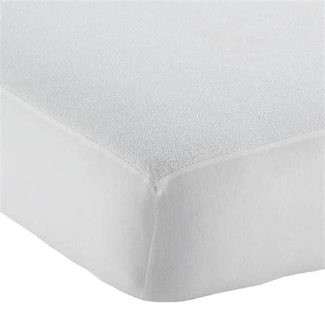 mattress pads for cribs waterproof crib mattress pad the land of nod