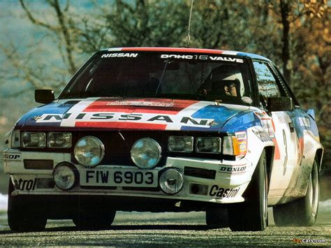 B Rally Car Wallpapers by Nissan 240rs B Rally Car Wallpapers 1024x768