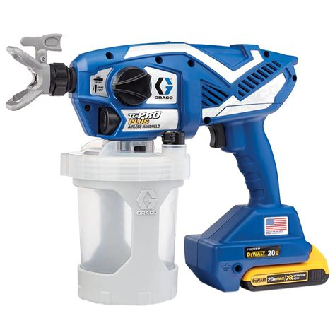 home depot pro paint sprayer rental graco tc pro plus airless paint sprayer 17n223 the home