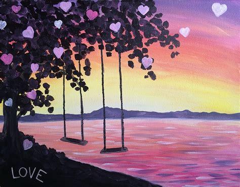 couples paint nite island paint nite swinging into