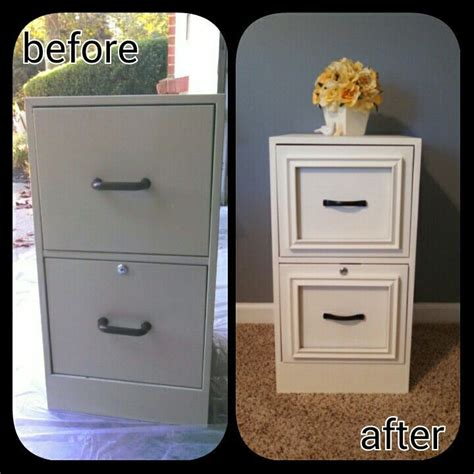 diy chalk paint paste wax diy filing cabinet makeover used epoxy to attach cheap