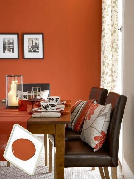 colors for dining room walls color therapy orange walls 20 photos messagenote