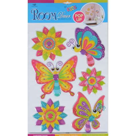 room stickers fantastic room wall decor stickers butterflies dinosaurs