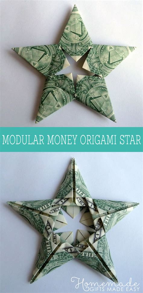 how to make origami out of money modular money origami from 5 bills how to fold step