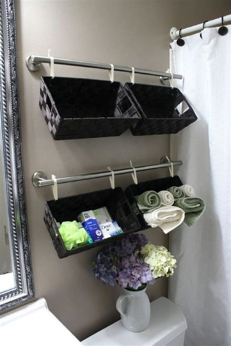 bathroom storage and organization 40 brilliant diy storage and organization hacks for small