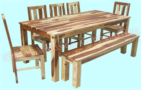 woodworking set wooden dining table set sheesham wood furniture