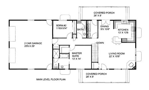 1500 sq foot house plans 1500 square 3 bedrooms 2 batrooms on 2 levels