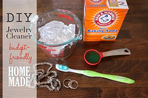 make your own jewelry cleaner simple 6 step diy jewelry cleaner