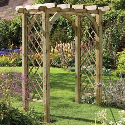 Garden Arch Materials Forest Ultima Pergola Arch Gardensite Co Uk