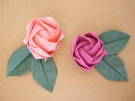 origami roses 38 how to make paper flower tutorials so pretty tip